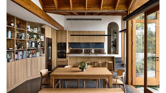 timber heavy interior