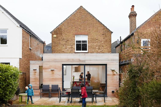 timber kitchen extension