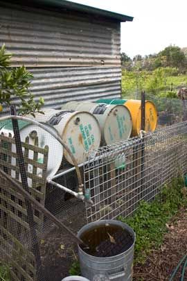 work out water needs for allotment