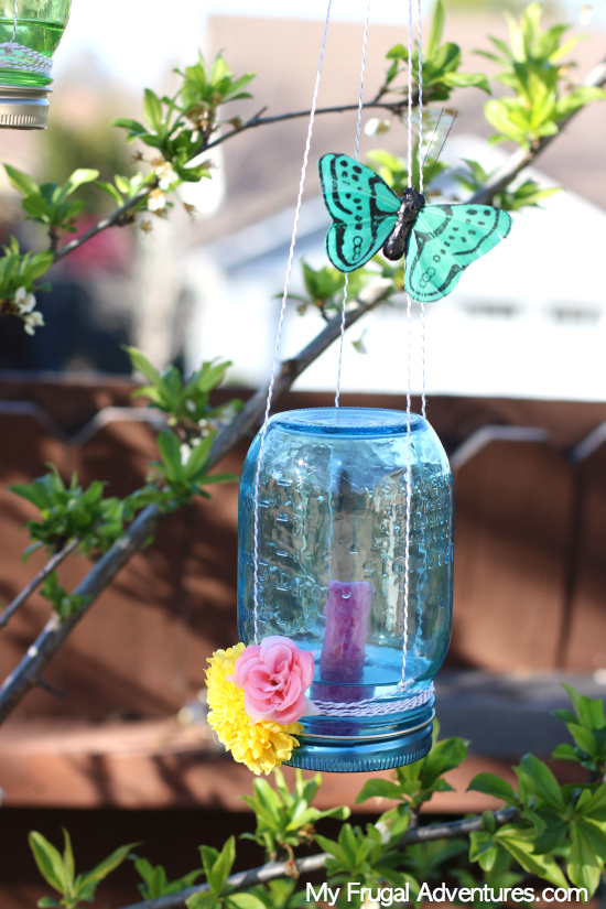 DIY butterfly feeder for allotment