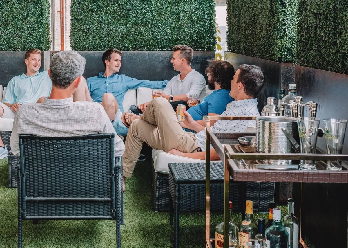 bar outdoor terrace