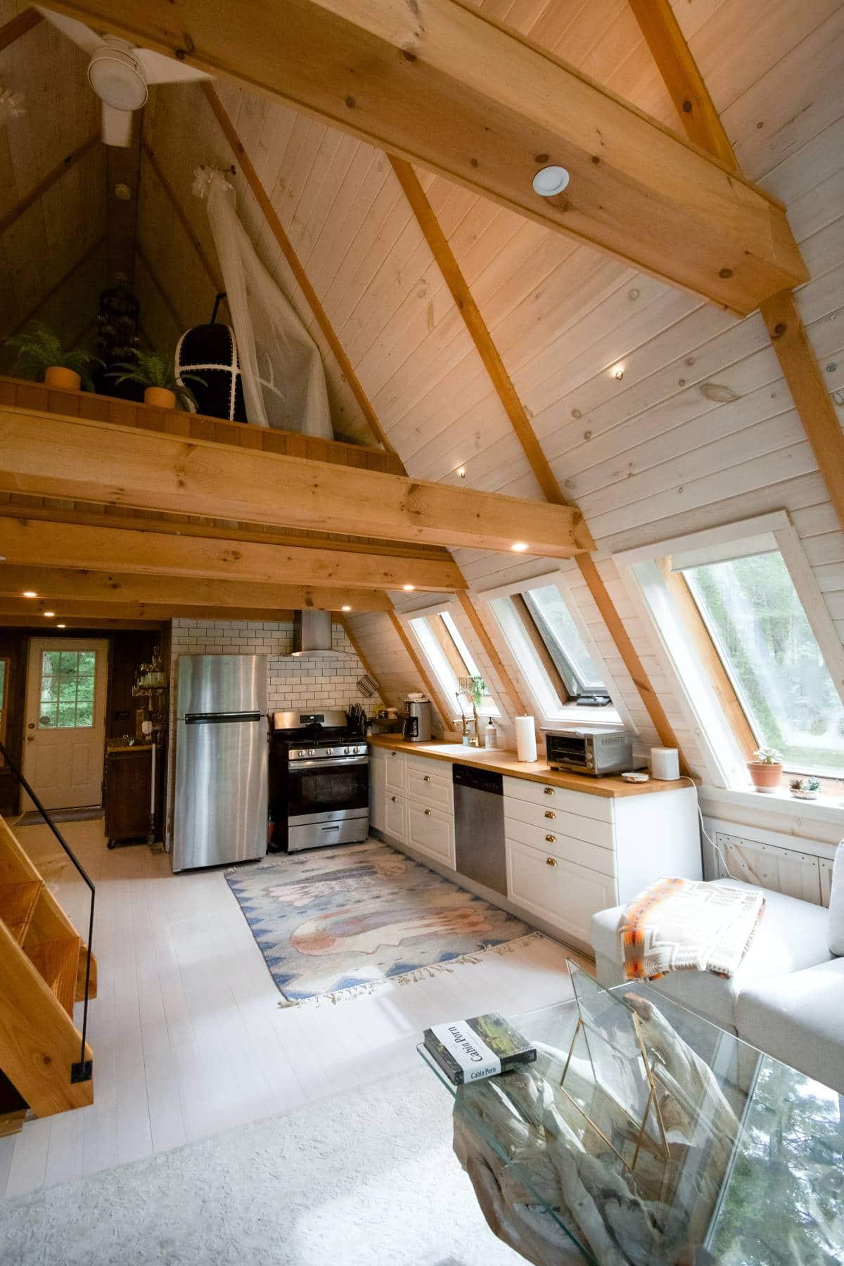 bright loft kitchen