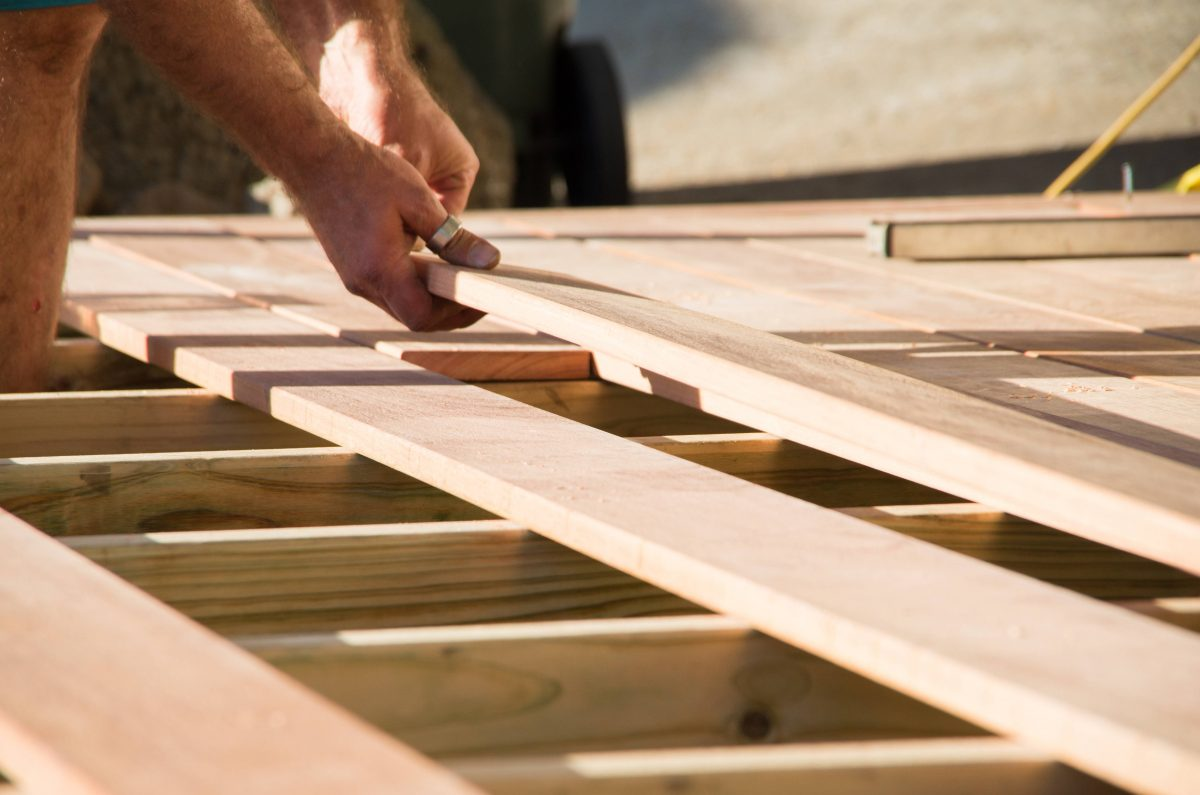How to lay decking and make your entertaining area pop