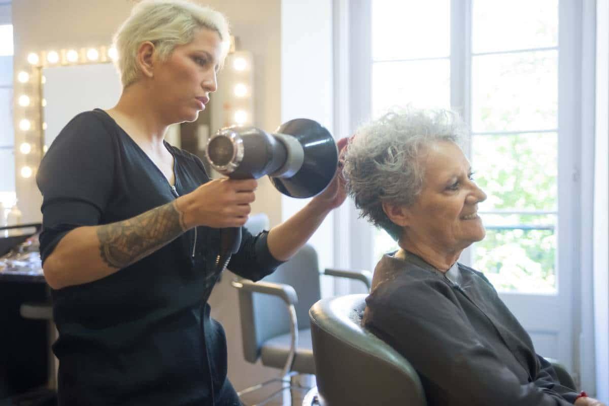 hair makeover elder