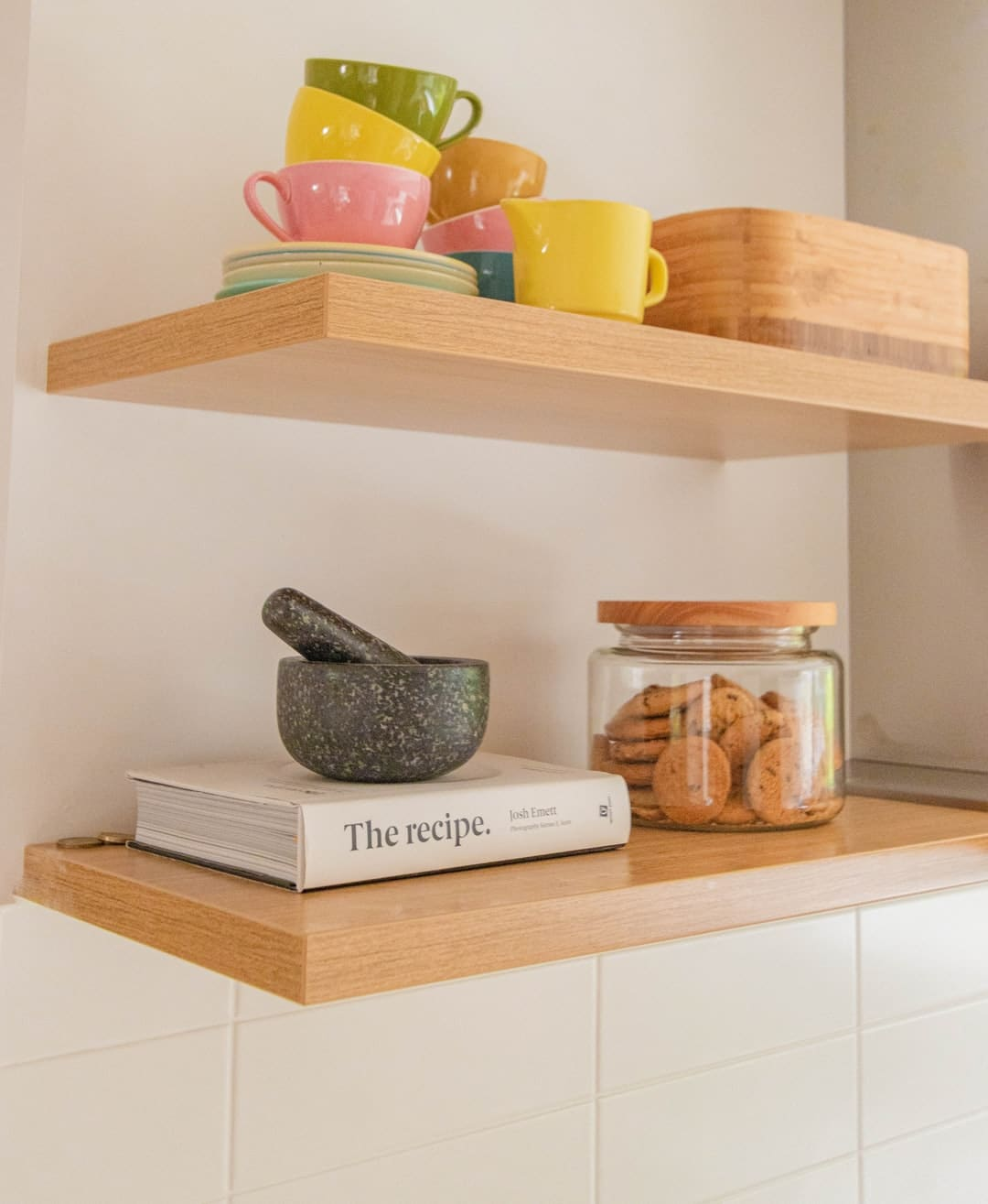 Create more stylish storage with these easy DIY shelves