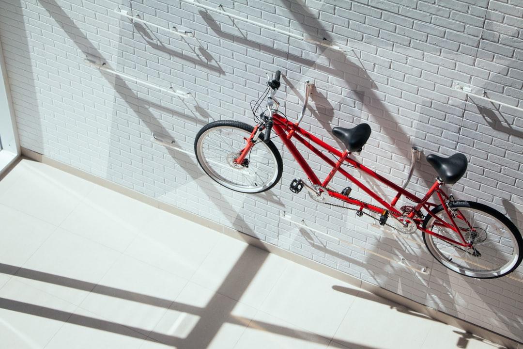 Soporte para bicicletas para apartamentos de bricolaje
